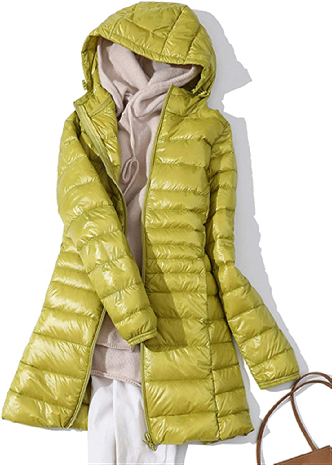 Thickened Latest item Down Jacket Leather Plaid Coat SEAL limited product Winter 7XL Woman