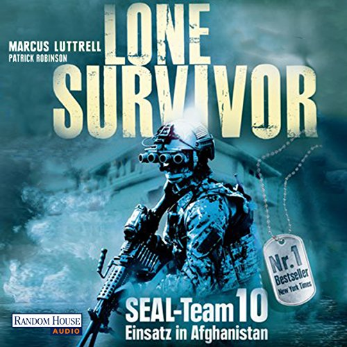 Lone Survivor- SEAL-Team 10 audiobook cover art