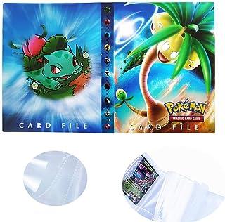 Dorara Protecteurs de Cartes à Collectionner Pokemon Cartes à Collectionner Album Classeur Albums de Cartes à Collectionne...