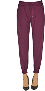 Pinko Luxury Fashion Womens MCGLPNS0000B7030E Burgundy Joggers | Season Outlet