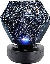 Romantic Starry Sky Projector Led Night Light Rotating Dreamlike Stars Projection Lamp Bedroom Home Decor Indoor Lighting