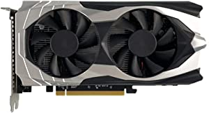 GTX 1050Ti 4GB GDDR5 128-bit Gaming Graphic Card phics Card,Low Noise Video Memory Card,Compatible with Interface for PC Gaming PCI Express 2.0 16X/HDMI/DVI/640 Core 900MHz Frequency