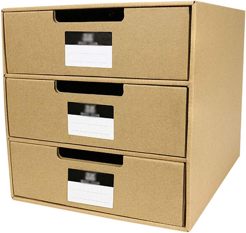 Desktop-Datei Aufbewahrungsbox Aufbewahrungsbox Aufbewahrungsbox Schublade Aufbewahrungsschrank Ablagekorb Datei-Organizer Informationsrahmen-Abschluss B07HMQZV3L   Mangelware  341ae7