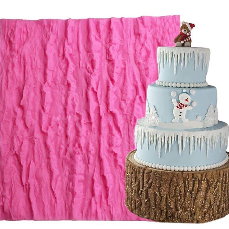 あごひげジョイント状フォンダン ケーキツール ベーキングツール クッキーケーキ抜き型 ケーキ金型 ケーキツール FidgetFidget DIYの吠え声の穀物のケーキチョコレート型の方法装飾のシリコーン型