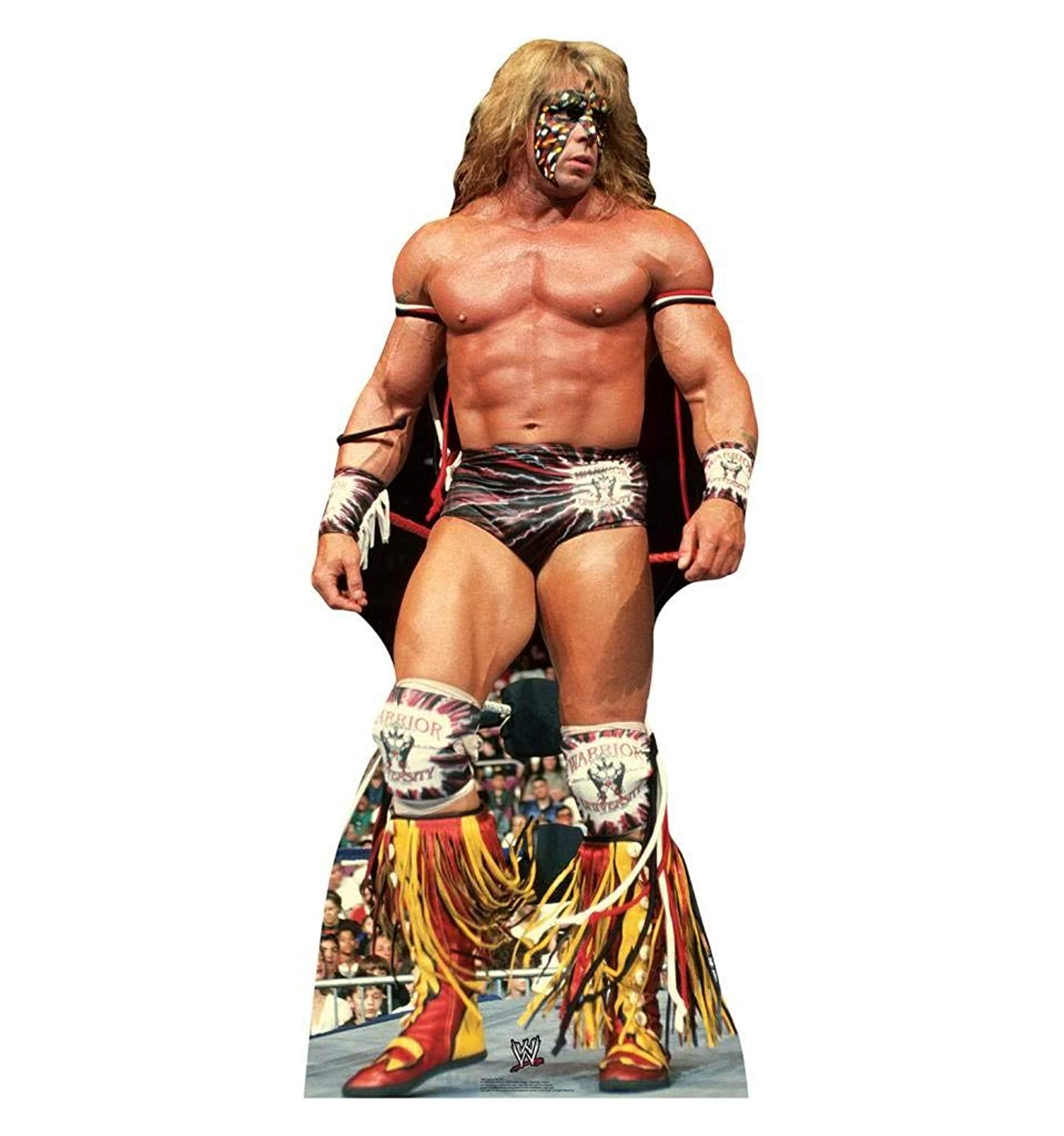 Advanced Graphics Ultimate Warrior Life Size Cardboard Cutout Standup - WWE