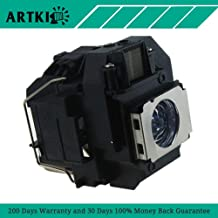 ELPLP56 Replacement Lamp with Housing for Projector EPSON MovieMate 60 MovieMate 62 EH-DM3
