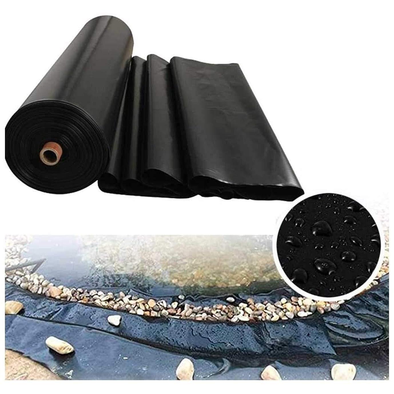 理解する化学意志プールライナー 大きい庭の人工池用防水シート 屋根上の一時的な雨よけ HDPE製 漏れ防止 農水産業用 人工池用シート、厚さ0.2mm 0.4mm 0.5mm 0.6mm 0.8mm (Color : 80S-0.8MM, Size : 6x8m)