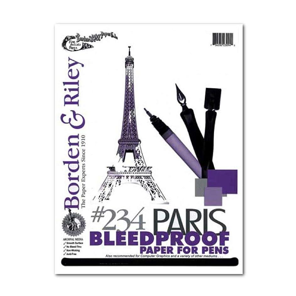 Borden & Riley Paris Paper For Pens 11X14,White