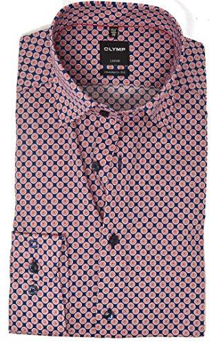 OLYMP 1220/34 Hemden, rot(rot), Gr. 46