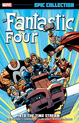 Fantastic Four Epic Collection: Into The Timestream: Into the Time Stream (Fantastic Four (1961-1996) Book 20) (English Edition)