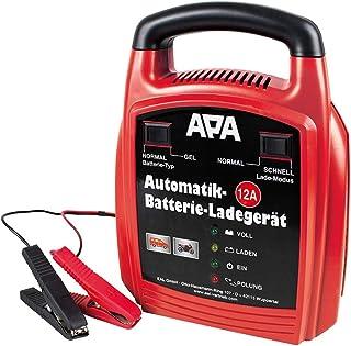 APA 16629 Automatik Batterie Ladegerät 12 V, 12 A
