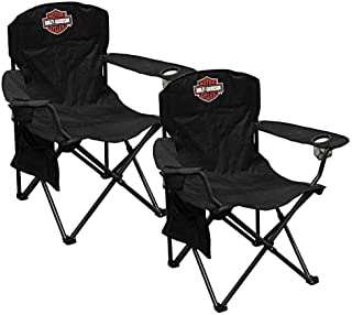 harley davidson folding chair