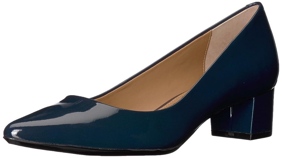 絶縁するサンダー地平線[Calvin Klein] Womens genoveva glsy Closed Toe Classic Pumps [並行輸入品]