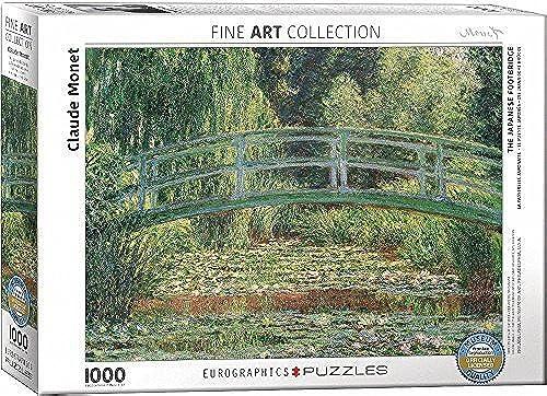 tienda hace compras y ventas EuroGraphics The The The Japanese Footbridge by Claude Monet (1000 Piece) Puzzle by EuroGraphics  100% autentico