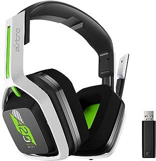Headset sem fio Astro Gaming A20 Gen 2 para Xbox series X|S, Xbox One, PC e Mac - Branco/Verde