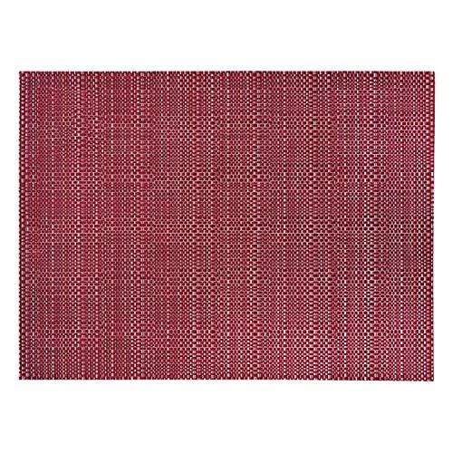 Winkler - Set de table tissé Canna – 33x45 cm – Napperon rectangle – Facile à nettoyer – Style moderne et tendance