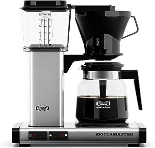 Moccamaster KB 741 AO polerat silver - filterkaffemaskin med justerbar filterhållare