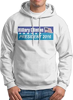 HILLARY CLINTON PRESIDENT 2016 Man's Sweatshirts Hoodie