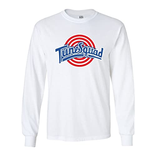 4a3b1378b2f KING THREADS Long Sleeve Space Jam Tunesquad T-Shirt