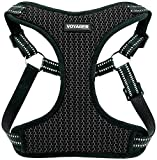 Best Pet Supplies, Inc. Voyager Step-in Flex Dog Harness - All Weather Mesh, Step in Adjustable Harness for Small & Medium Dogs, Inc, Inc, Gray Base, X-Small