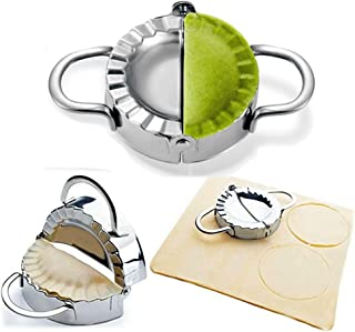Dumpling Maker – Dumpling Press/Stainless Steel Empanada Press/Pie Ravioli Dumpling..