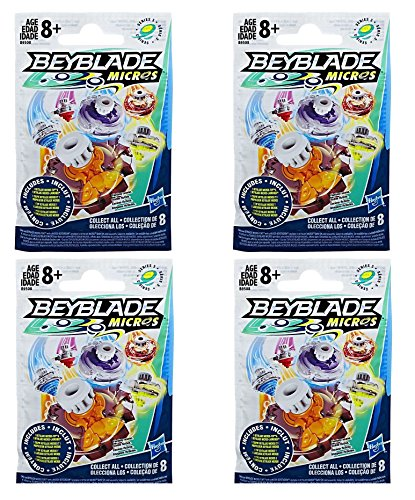 Beyblade Micros Series 3 Blindbeutel, 4 Stück