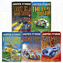 Jasper Fforde Thursday Next 5 Books Collection Set (The Eyre Affair, Lost in a Good Book, The Well Of Lost Plots, Somethin...