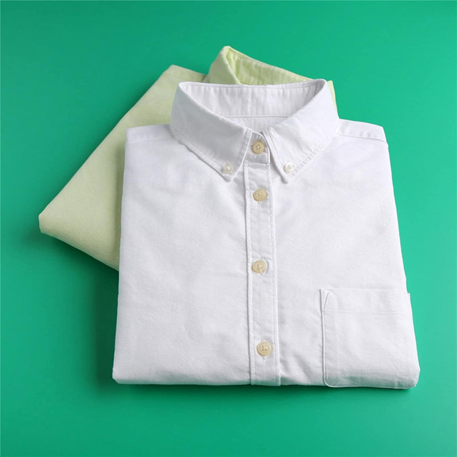 Spring White Oxford Our shop OFFers the best service Blouse Women Sleeve Long Max 88% OFF Shirts Solid Cotton