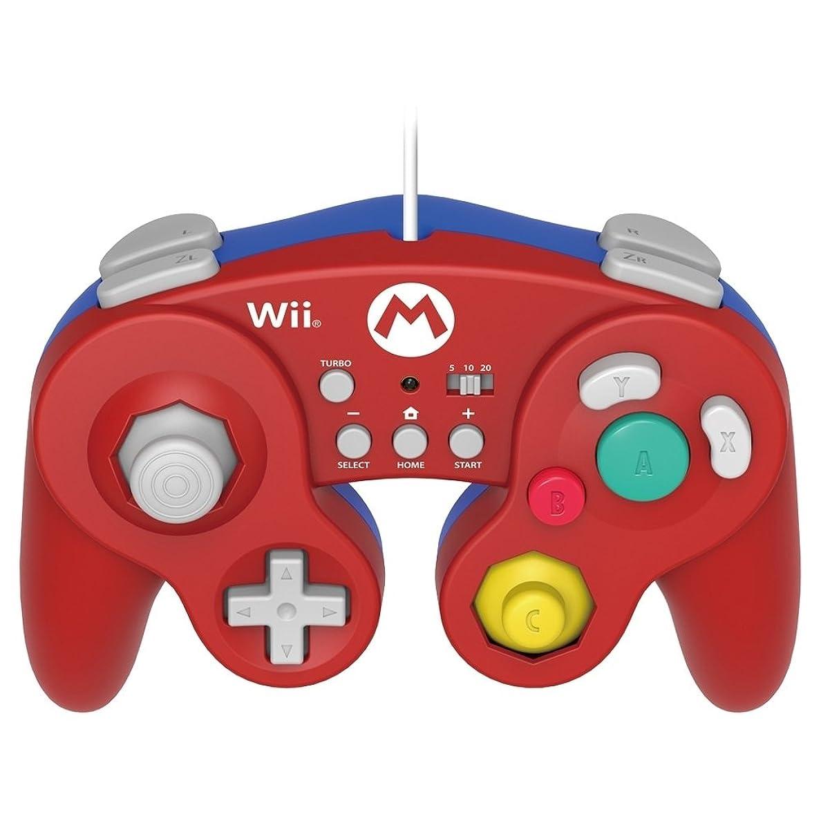 役職ニックネーム警察署【Wii U/Wii対応】ホリ クラシックコントローラー for Wii U マリオ