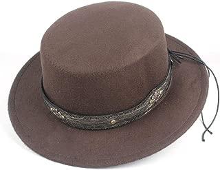 Hat Fedora Hat Size 56-58CM Unisex Men Women Flat Top Hat Autumn Pop Church Travel Hat Fascinator Casual Wild Hat Fashion Hat