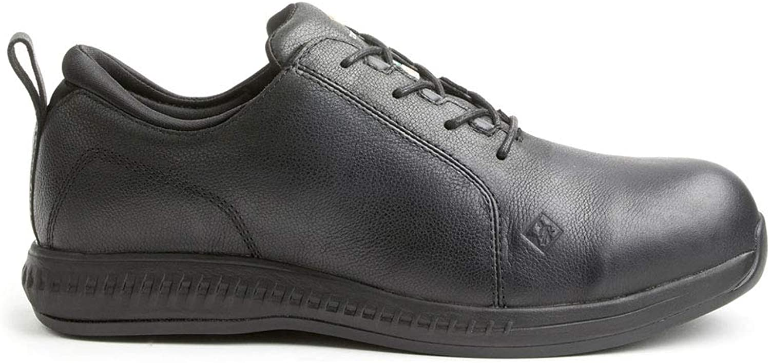 Terra Men's Parker Ctcp Esr Eh Work shoes in Black
