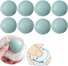 NABEECA 8 Pack Duvet Clips with 16 Duvet Pins for Keeping Comforter from Shifting in Cover - Bedding Accessories - Light Blue