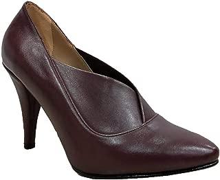 Gizem 333 Deri Çaça Topuk Kadın Ayakkabı