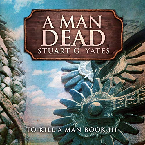 A Man Dead audiobook cover art