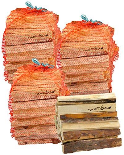 mumba-Anfeuerholz ungefähr 12 kg Fichte/Kiefer, ungefähr 15-18% Restfeuchte