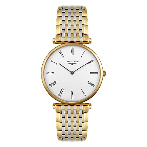 Longines L47092117 La Grand Classic in Steel and 18k Gold Ultra Thin Mens Watch