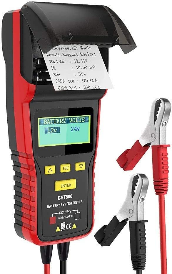 Milwaukee Mall C.W.USJ Car Columbus Mall Tester Tool 12V Battery 24V with Thermal