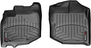 WeatherTech Custom Fit Front FloorLiner for Honda Fit (Black) - 441811