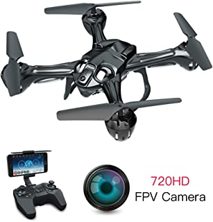 RC FPV Drone Quadcopter with 720P WiFi Camera Live Video for Beginners Adults Lefant Zeraxa PRO Fly Toy Drone RTF Quadcopter with Optical Flow, Headless Mode, Altitude Hold, 3D Flips, Waypoint Flight