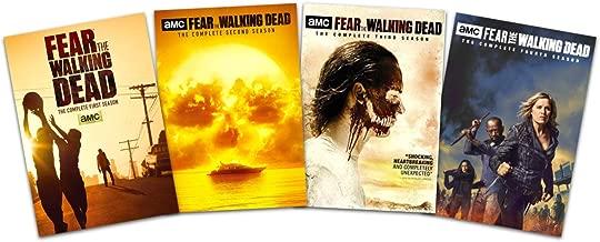 Fear the Walking Dead - Complete Seasons 1-4 (DVD, 2019, 15-Disc Set)