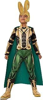 Rubie's unisex-child Deluxe Loki Costume Costume (pack of 1)