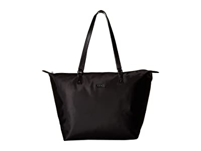 Lipault Paris Lady Plume Tote Bag M (Black) Bags