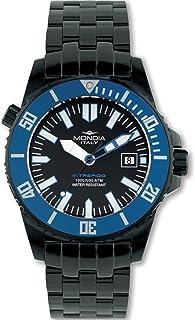 Mondia intrepido Automatic Mens Analog Japanese Automatic Watch with Stainless Steel Bracelet MI725N-2BM