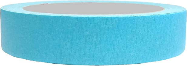 Black Gorilla Masking Tape for Carpenters and Painters (Turquoise) (1 Inch - Lenght 20 meter - Pack of 1)