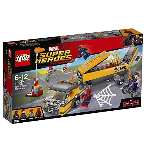 LEGO Marvel Super Heroes 76067 Tanker Truck Takedown by LEGO