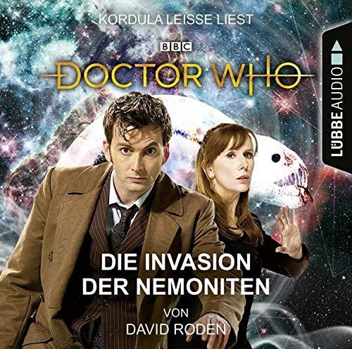Doctor Who - Die Invasion der Nemoniten cover art