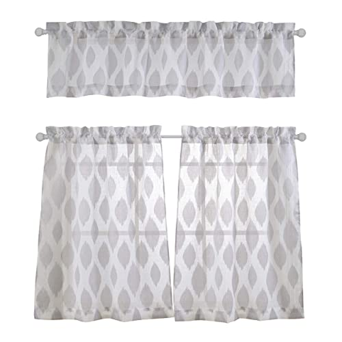 Excellent Cafe Curtains With Valance Amazon Com Home Interior And Landscaping Palasignezvosmurscom