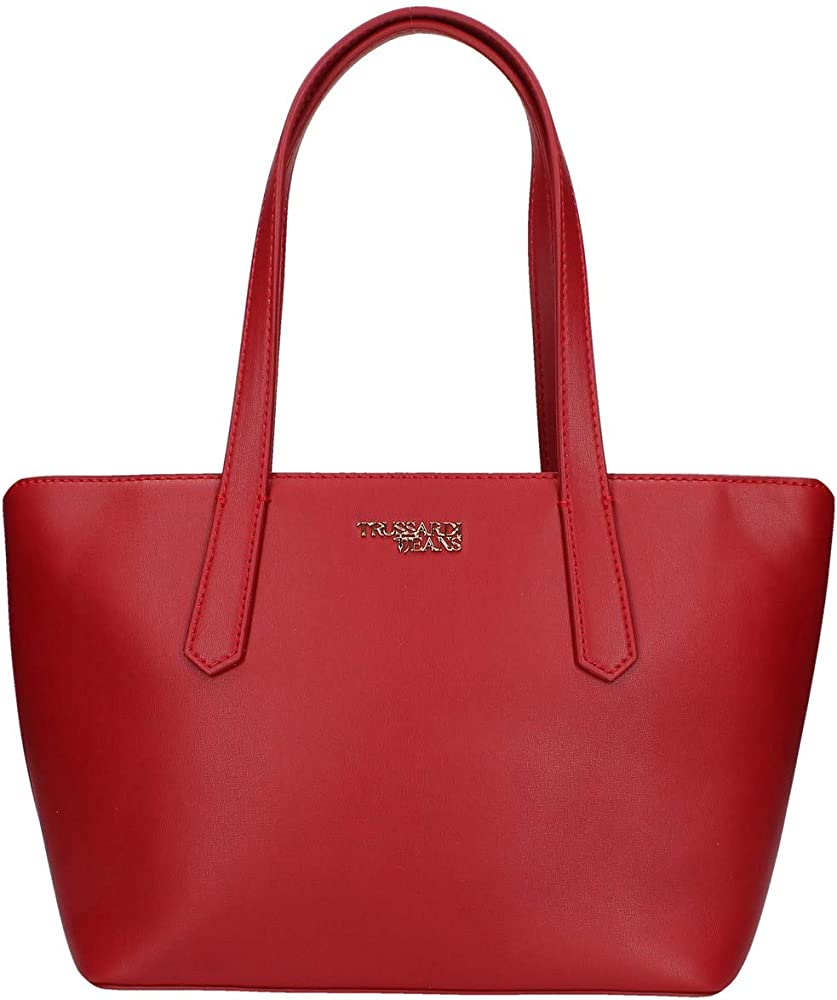 Trussardi jeans, miss carry tote ,borsa per donna in similpelle 75B00766-9Y099999-R245