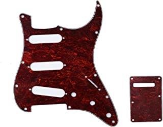 Best white stratocaster red pickguard Reviews