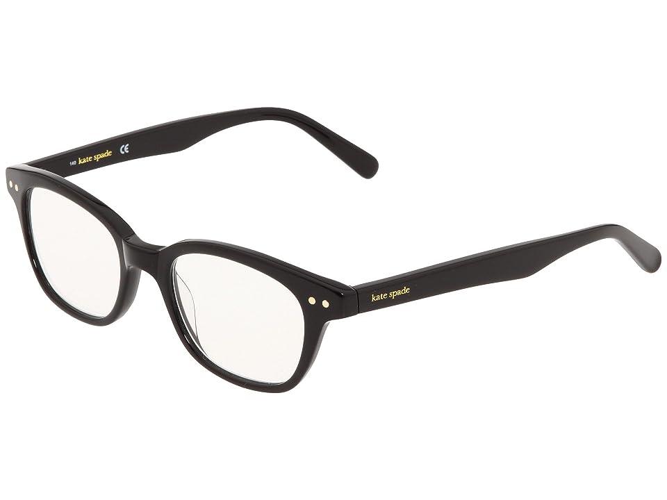 Kate Spade New York Rebecca (Black) Reading Glasses Sunglasses